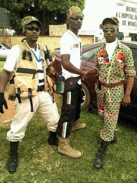 Images des IMBONERAKURE en uniformes militaires au sud du pays | Bujumbura  News