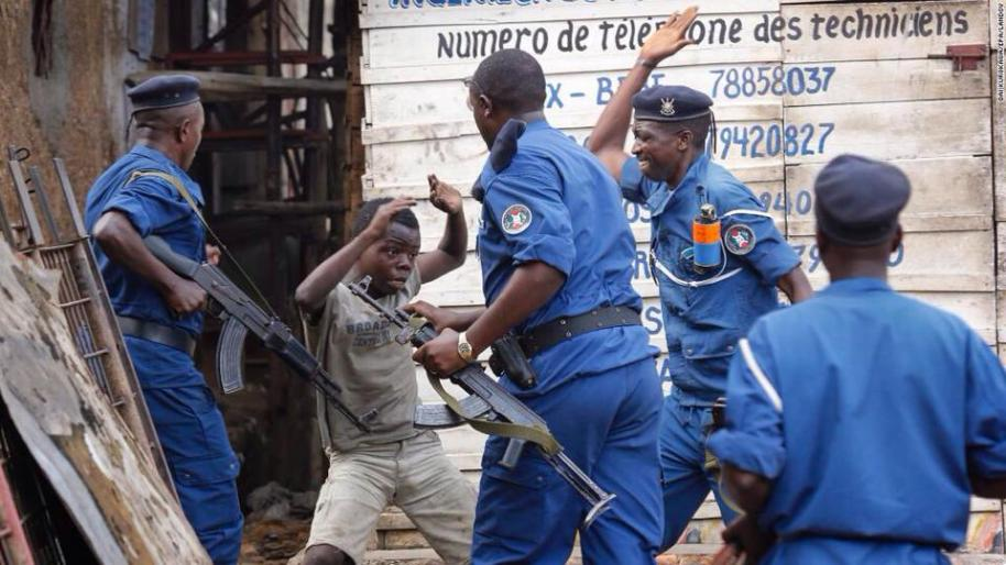 Enfant tabassé par la police