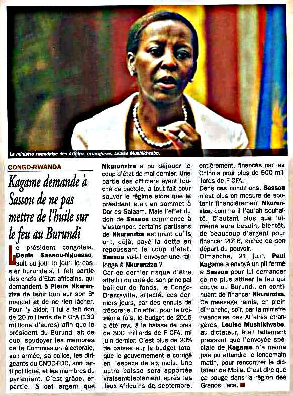 Kagame Sassou