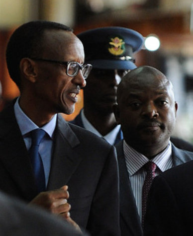 Kagame vs Nkurunziza